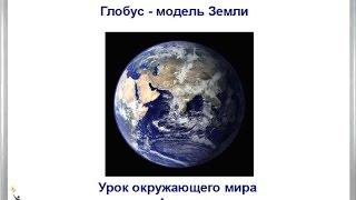 Урок Глобус модель Земли