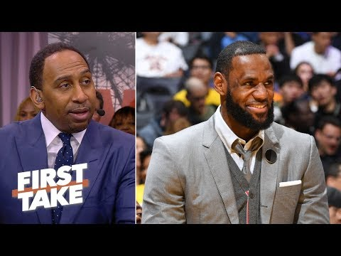 LeBron James 'has some culpability' in Anthony Davis' fine | First Take