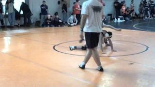 Wrestling: Dylan Golke v.s. Gregory Fisher (First Ever In-Match Spladle)