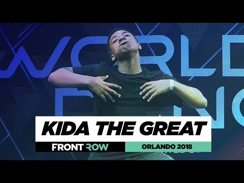 Kida The Great | FrontRow | World of Dance Orlando 2018 | #WODFL18