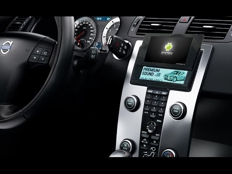 Volvo Android Headunit S40 V50 C30 C70 Head Unit Youtube
