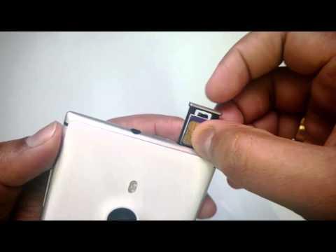 How to Insert SIM card into Nokia Lumia 925