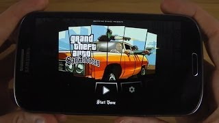 Grand Theft Auto: San Andreas Samsung Galaxy S3 Android 4.3 HD Gameplay Trailer
