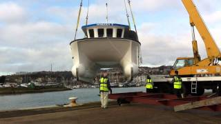 10m sutton work boat  craned in!!