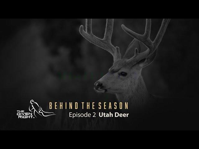 Utah Mule Deer BTS