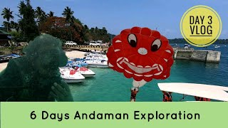Andaman Vlogs 3 | Havelock Island Scuba | Elephant Beach Parasailing