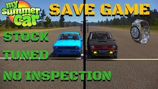 SAVE GAME 2019 - Stock & Tuned & without inspection - My Summer Car #136