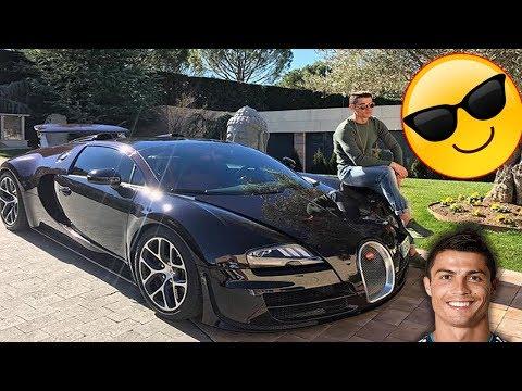 أغلى 10 سيارات فخمة يمتلكها كريستيانو رونالدو   رقم 1 ثمنها خيالي!!