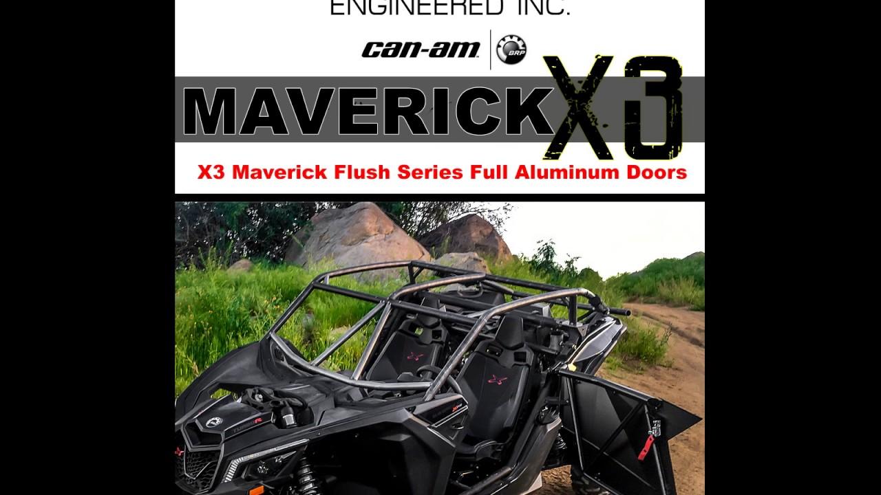 Flo Engineered-Best aftermarket doors Can-am Maverick X3.  sc 1 st  YouTube & Flo Engineered-Best aftermarket doors Can-am Maverick X3. - YouTube pezcame.com