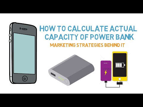 How to calculate ACTUAL capacity of power bank | Marketing strategies behind it | Arun