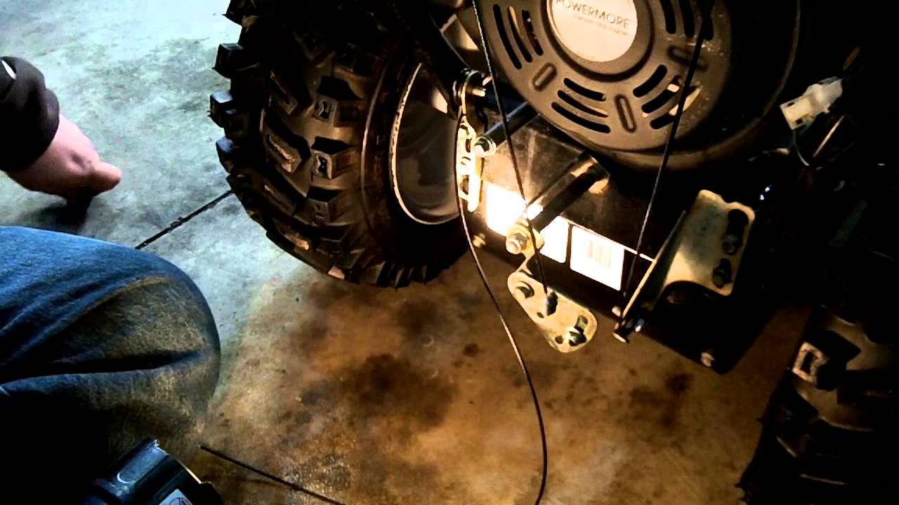Mtd Pro 30 Snow Blower Auger Control Cable And Return Spring Yardman Wiring Diagram Replacement