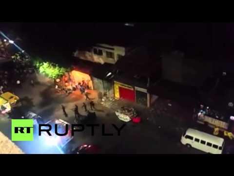 Brazil: Pro and anti-government protesters clash in São Paulo