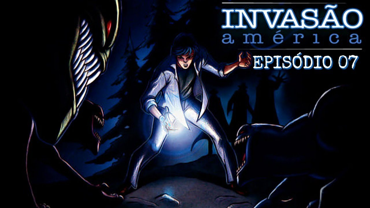 Invasao America Episodio 07 Captura Dublado Youtube