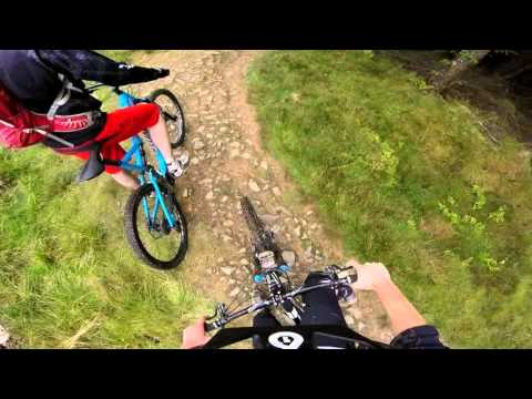 Glentress black-all descents