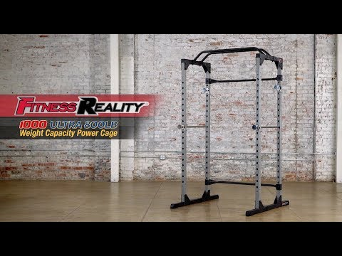 2820 fitness reality 1000 ultra 800lb weight capacity power cage