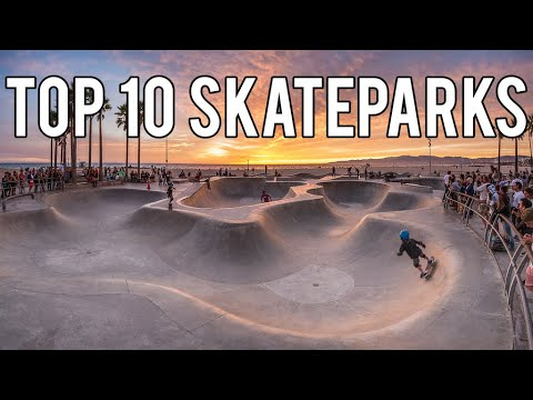Most FAMOUS Skateparks In The US (California, New York, Florida)