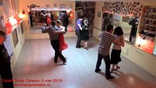 Танцуем аргентинское танго под русское ретро. Уроки танго в Ростове.