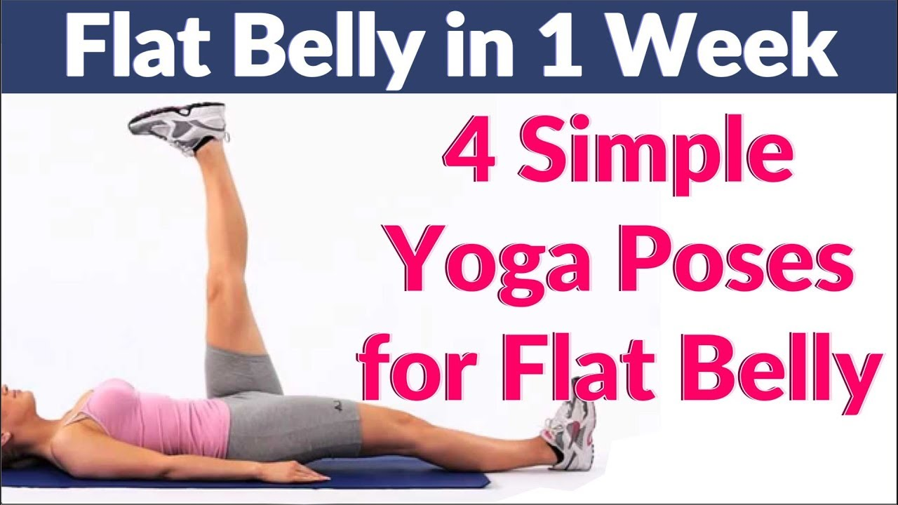 simple yoga exercises for flat stomach   Workoutwaper co