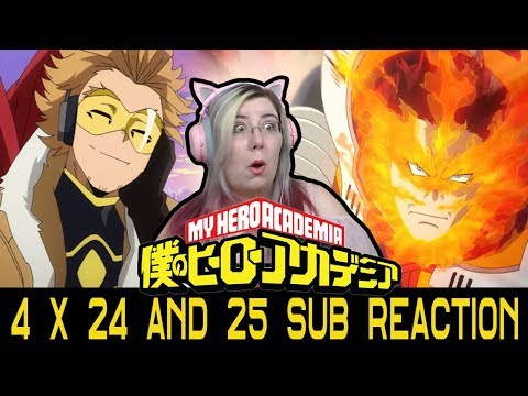 PLUS ULTRA?!? - My Hero Academia 4x24 - 25 ( SUB ) Reaction - Zamber Reacts