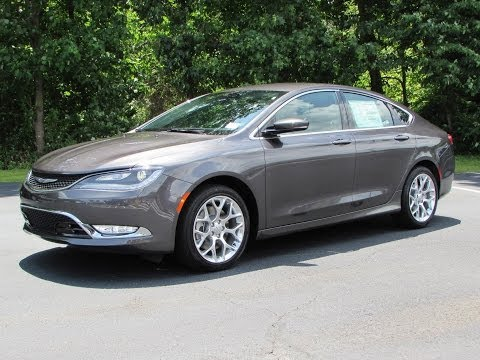 2015 Chrysler 200C AWD V6 Start Up, Exhaust, and In Depth Review