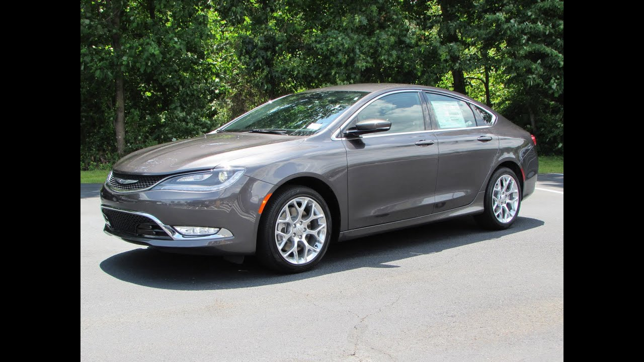 2015 Chrysler 200C AWD V6 Start Up, Exhaust, and In Depth ...