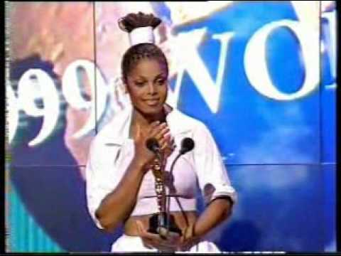 Janet Jackson at the World Music Awards Monaco 1999