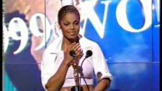 Janet Jackson at the World Music Awards Monaco 1999