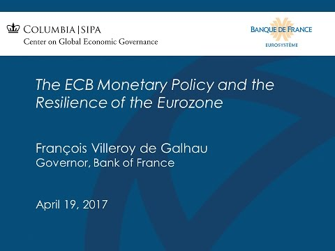 The ECB Monetary Policy and the Resilience of the Eurozone