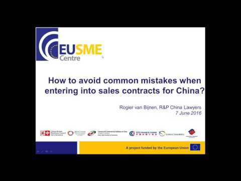 Drafting Sales Contracts in China: How to Avoid Common Mistakes