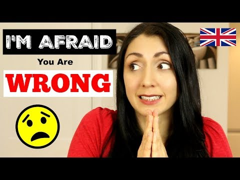 I'M AFRAID YOUR ENGLISH IS WRONG | LIVE English Lesson
