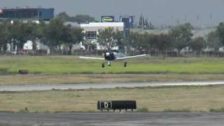 Grumman American AA1, N5703L departing KPOC on 6/13/10 at 1548