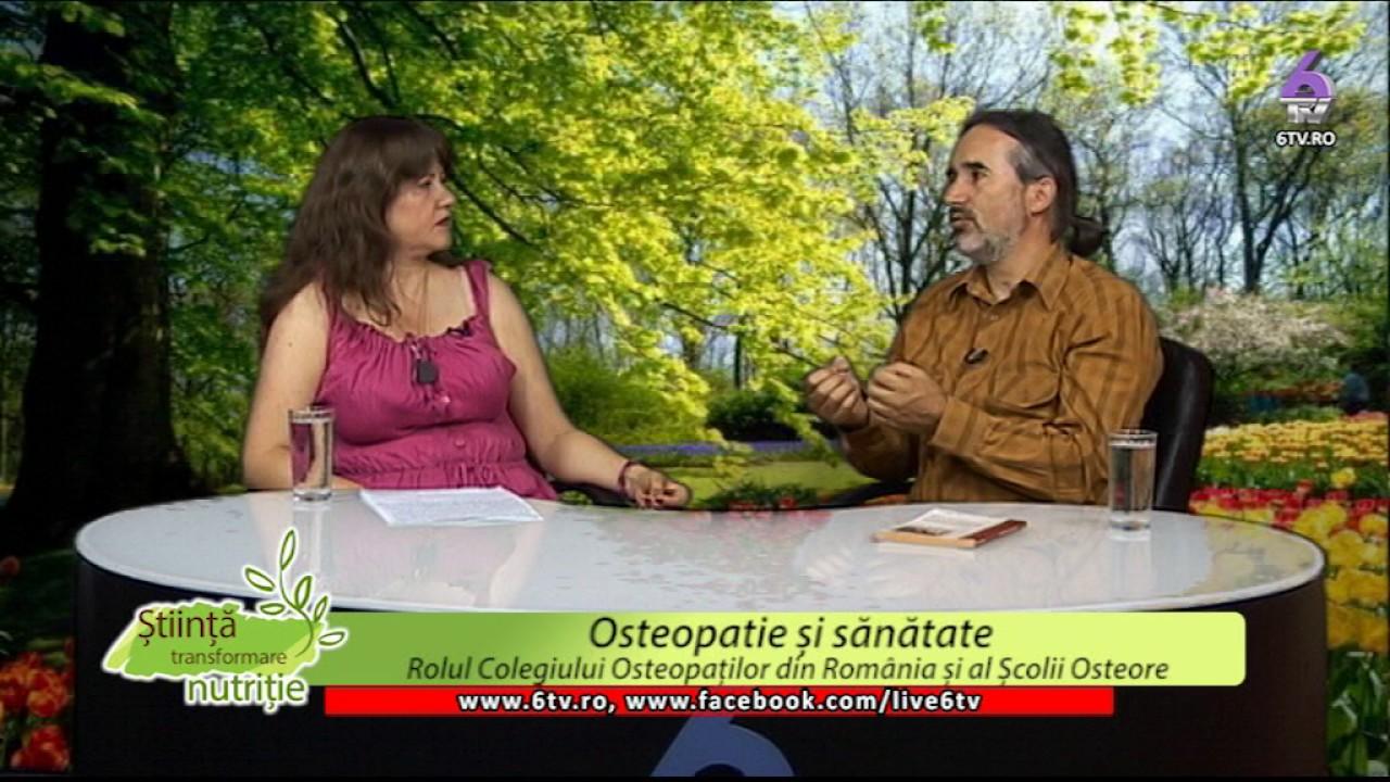 STIINTA, TRANSFORMARE, NUTRITIE 2017 06 19 -Simona Ionita-Osteopatie si Sanatate-Mircea Laurentiu