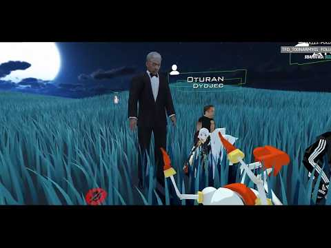 """Morgan Freeman Reading """"Go the Fuck to Sleep"""" to RubberRoss (VRChat)"""