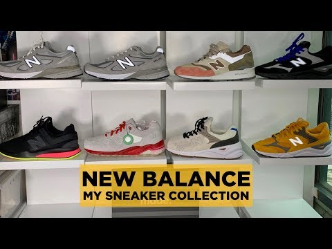 MY NEW BALANCE SNEAKER COLLECTION (X-90, 990 V4, 580, 997, ETC.) // CARLO OPLE