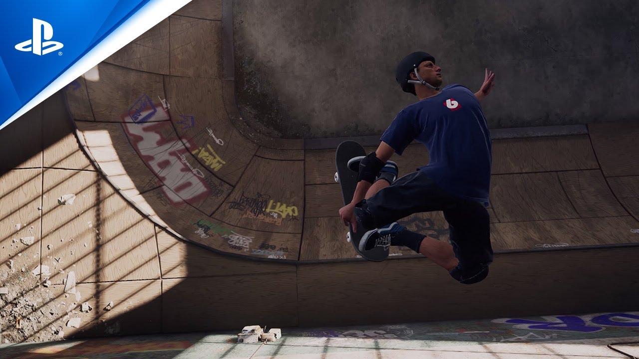Tony Hawk's Pro Skater 1 and 2 | Warehouse Demo Trailer | PS4