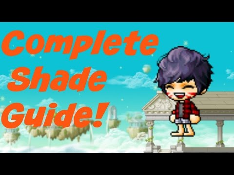 MapleStory | Complete Shade Guide!