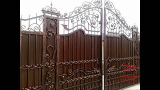 Ворота из профнастила от ООО