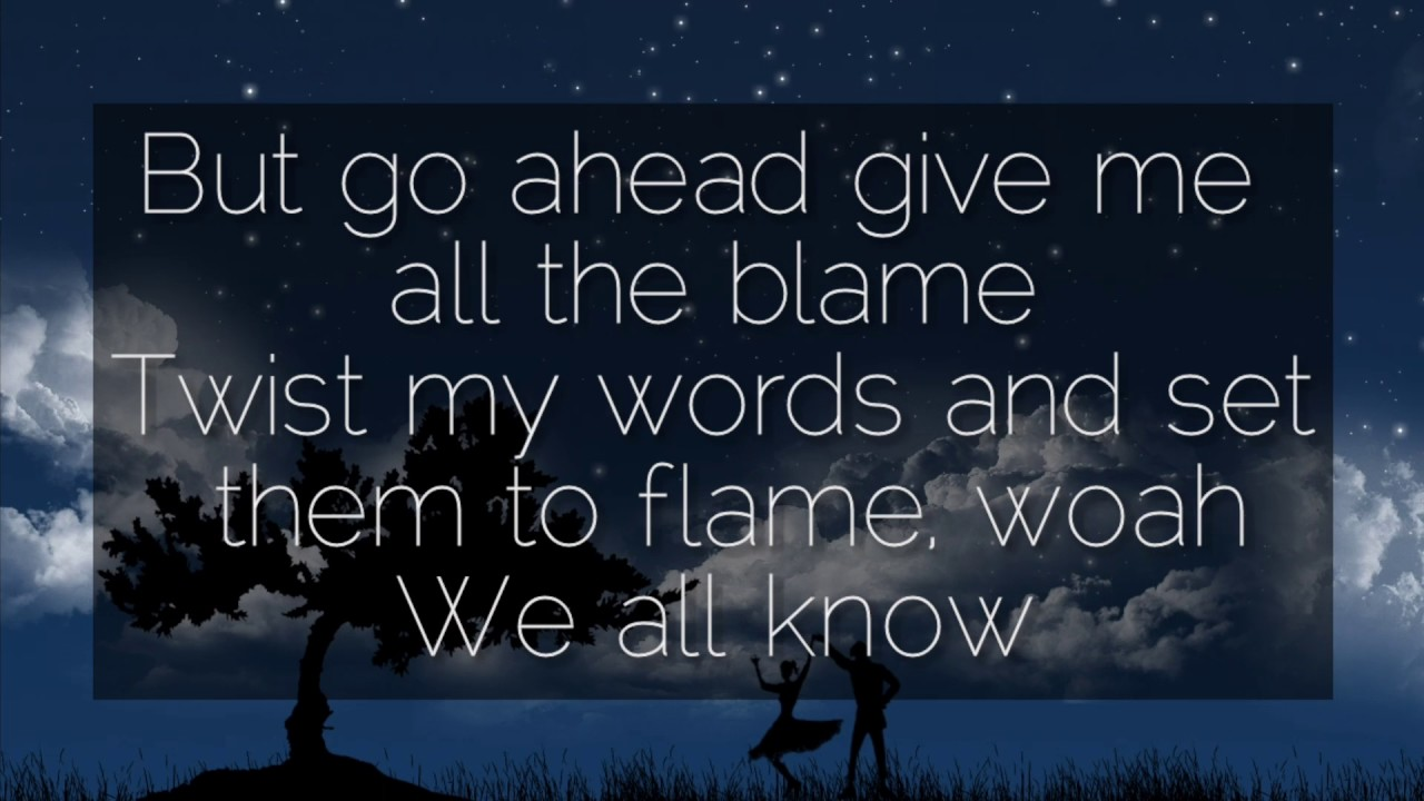 where the story ends - the fray - lyrics - YouTube