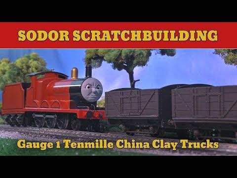 Gauge 1 China Clay Wagons   Sodor Scratchbuilding