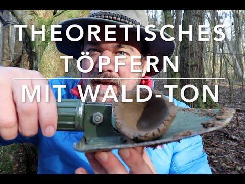Töpfern mit Wald-Ton