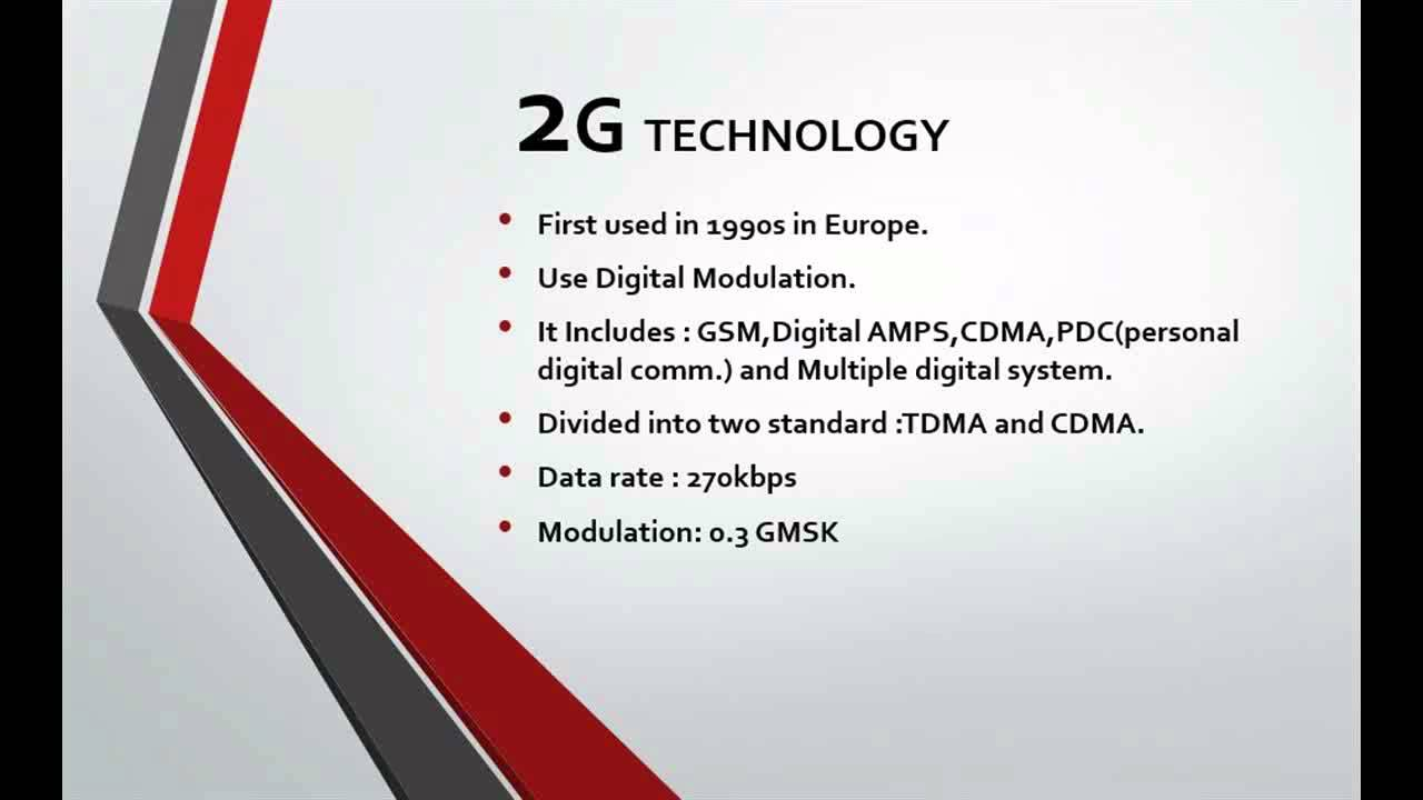 3g technologies and 3g technoilogies characteristics