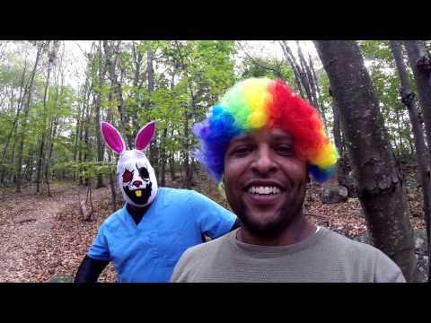 Fluffy the killer bunny hates clowns