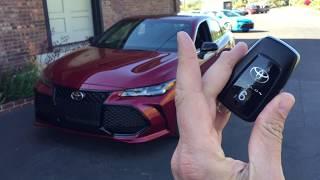 Toyota Avalon 2019 - Encendido