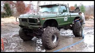 BIG AL'S RACETRACK, IDEAL PLACE FOR  A MUD BOG!!  or hill and hole mud bog , October 27, 2012