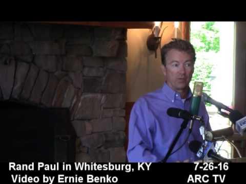 Rand Paul Whitesburg 2016