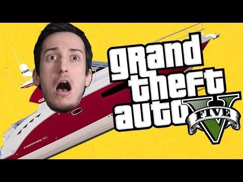 GTA 5 Online CAZZEGGIO NELLO YACHT LUSSUOSO INNEVATO