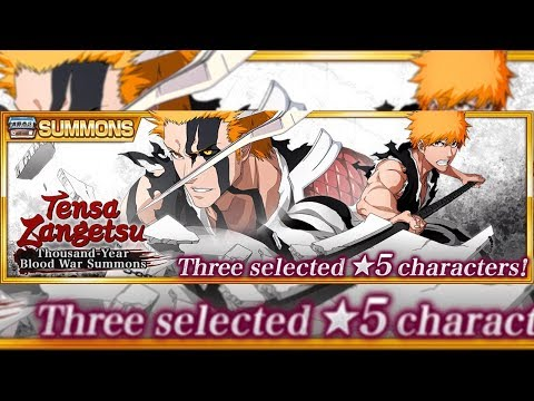 Bleach Brave Souls: 500 orbs Summons Ichigo True Zangetsu!!! Buscando ele + presente!!! - Omega Play
