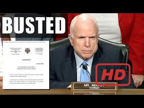 BREAKING: John McCain Asked Russia for Campaign Donations in 2008 According to Wikileaks  #HAY
