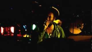 MC Trooper on Jah Revelation sounds  at Hootananny, Brixton 21st June 2012