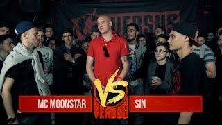 VERSUS: FRESH BLOOD 2 (Mc Moonstar VS Sin) Третий Отборочный Баттл
